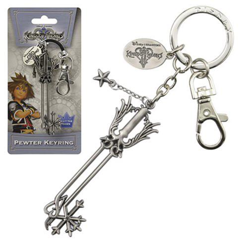 Kingdom Hearts Oathkeeper Pewter Keychain