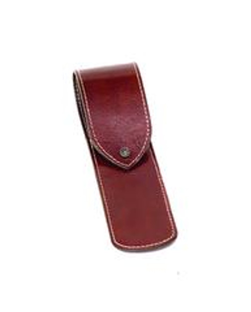 Dovo Brown Leather Sheath For One Straight Razor (Germany)