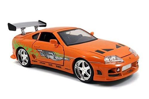 Model Car - 1:24 F&F Brian's 1996 Toyota Supra Orange
