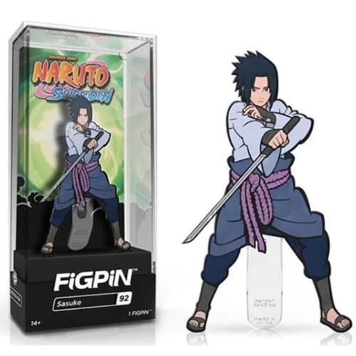 Naruto Shippuden Sasuke FiGPiN #92 Enamel Pin