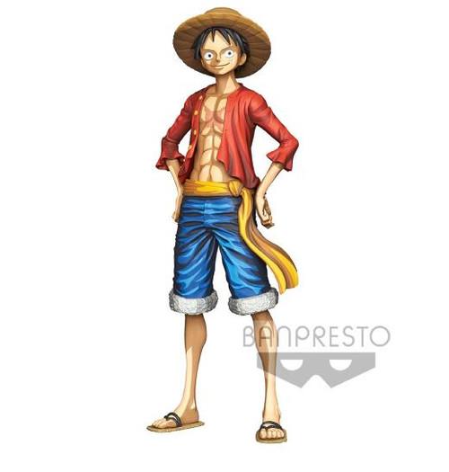 One Piece Monkey D Luffy Grandista Banpresto Statue