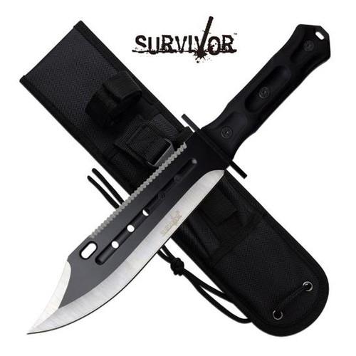 """Survivor Bk Fixed Blade Saw Back 14.25"""""""