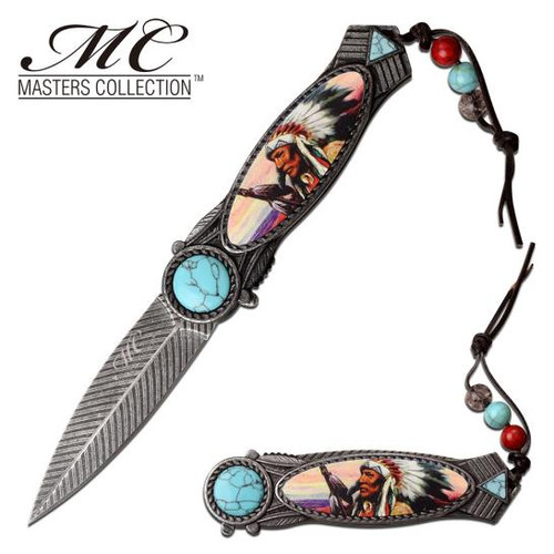 Master Collection - Indian AO Pocket Knife