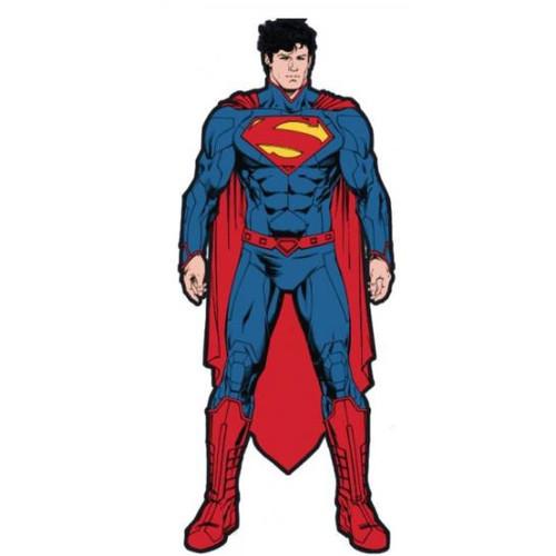 Magnet - DC Superman Figure Soft Touch PVC