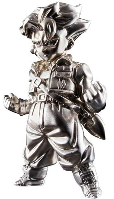 Dragon Ball Z Super Saiyan Trunks Bandai Nations Mini-Figures