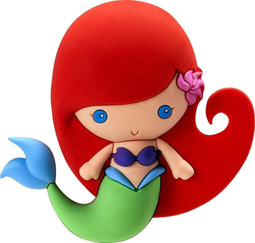 Magnet - Disney Ariel 3D Foam