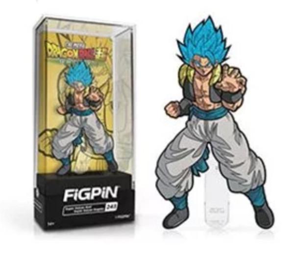 Dragon Ball Z Super Saiyan God Gogeta FiGPiN #243 Enamel Pin Chase
