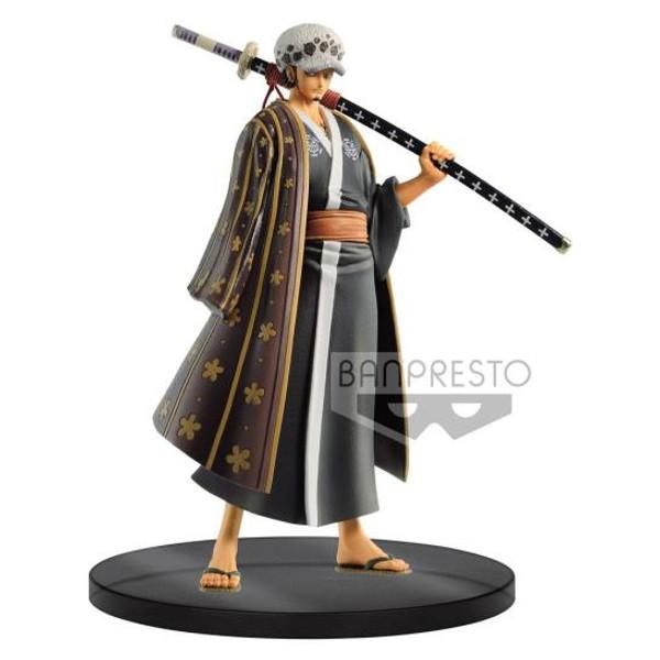 Figure Anime - Law Wanokuni One Piece The Grandline Men vol. 3 DXF