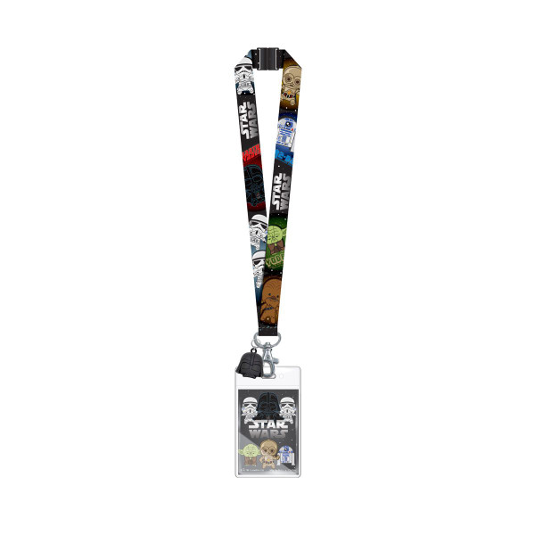 Lanyard - Star Wars Darth Vader w/ Soft Touch Dangle