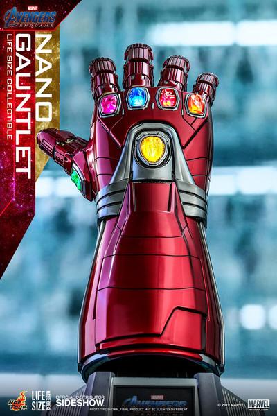 Figure Marvel - Nano Gauntlet (Life-Size Replica) (Hot Toys)