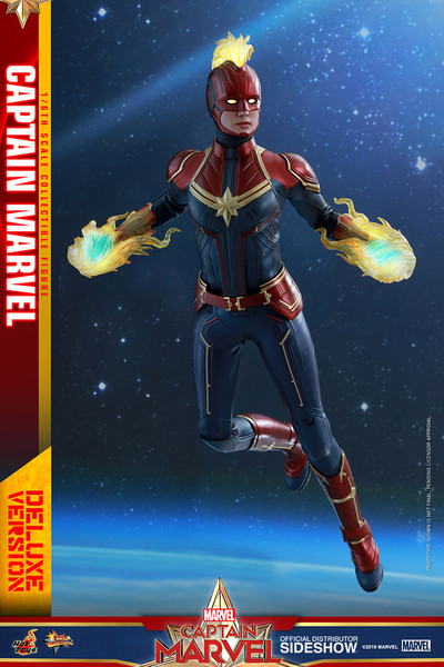 Figure Marvel - Captain Marvel (Deluxe Version) - Sixth Scale (HT)