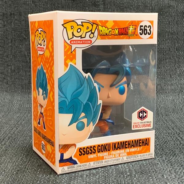 Funko POP - DBZ Super Goku SSGSS (Kamehameha) Exclusive [563]