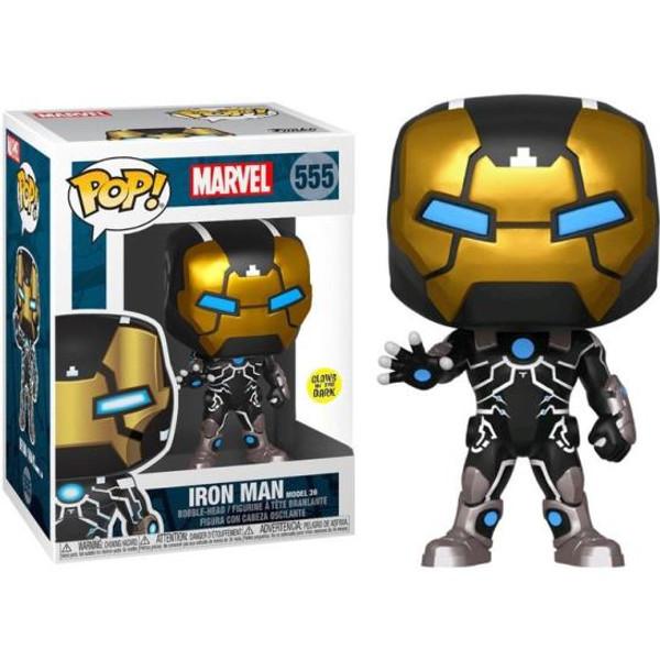 Pop! Iron Man 555 Glow-in-the-Dark Vinyl Figure