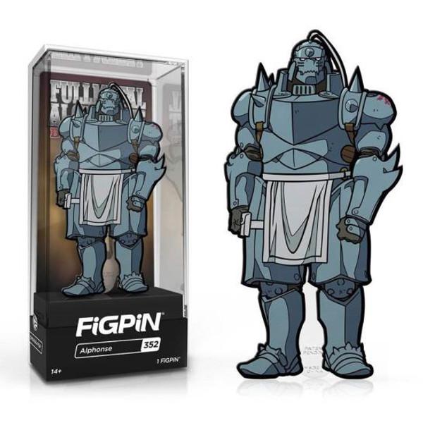 Full Metal Alchemist Alphonse FiGPiN #352 Enamel Pin