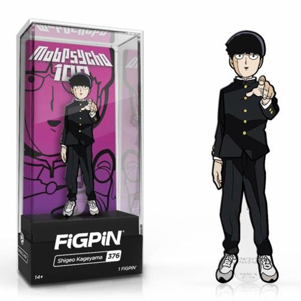 Mob Psycho 100 Shigeo Kageyama FiGPiN #376 Enamel Pin