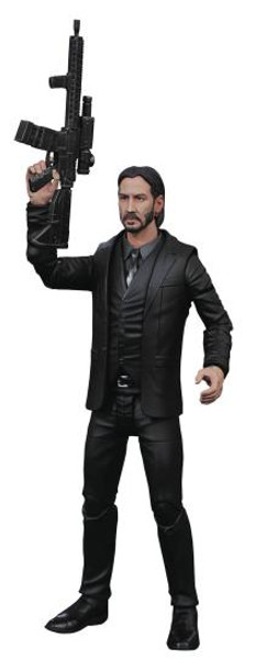 FIGURE SELECT - JOHN WICK BLACK SUIT (AF)