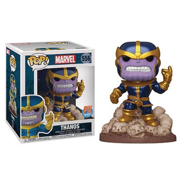"""Pop! Avengers: Endgame Thanos 6"""" Super Sized 556 Vinyl Figure PX Previews Exclusive"""
