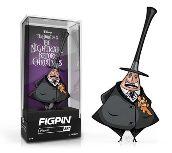 Nightmare Before Christmas Mayor FiGPiN #257 Enamel Pin
