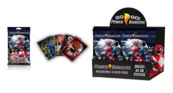 Sticker Pack (Power Ranger) Hologram Mystery Pack [1 Random Bag]