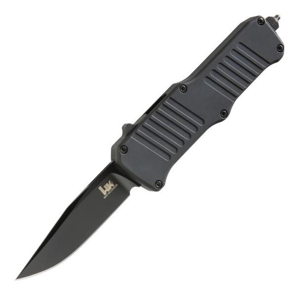 "HK Mini Incursion (Black) OTF Knife (3.00"" Black 154CM) 54056"