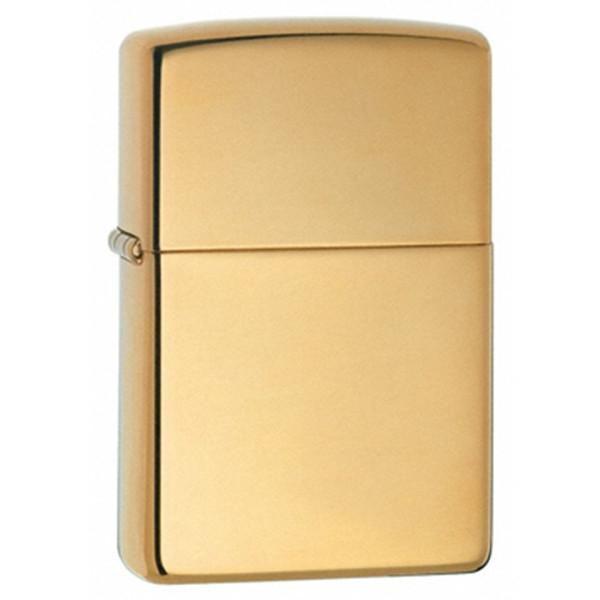 High Polish Brass Zippo