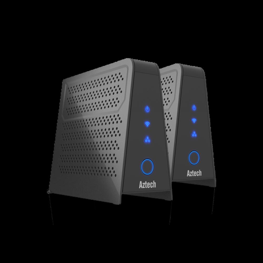 Aztech Dual Band AC1200 Wireless Mesh Node WMB260AC Twin Pack