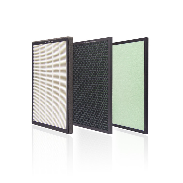 Aztech AirePuri 80m2 Air Purifier (AAP7680) Accessories Pre / HEPA / (2in1) Acti Carb Filter