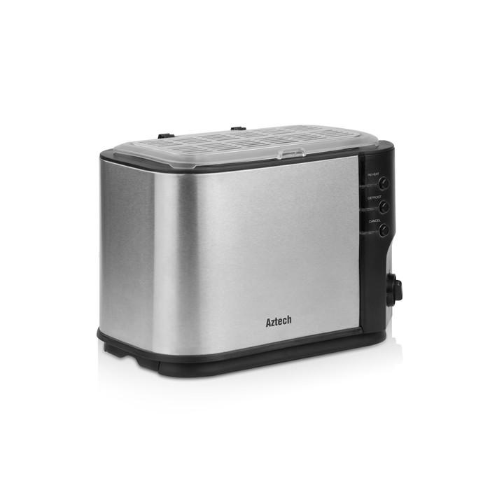 Aztech Silvertone Bread Toaster (ABT6620)
