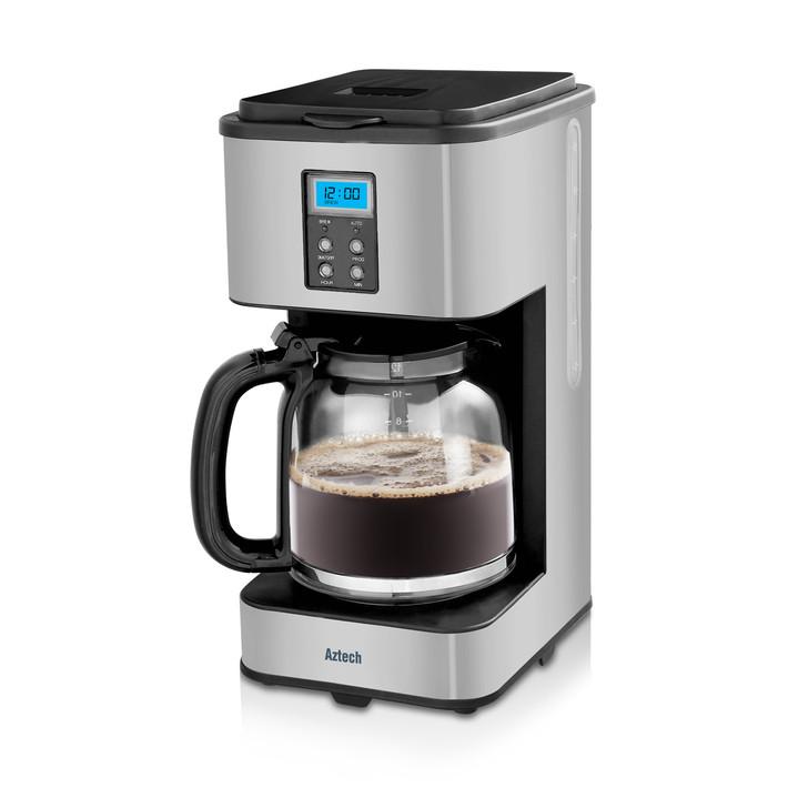 Aztech Silvertone Drip Filter Coffee Maker (AFC6600)