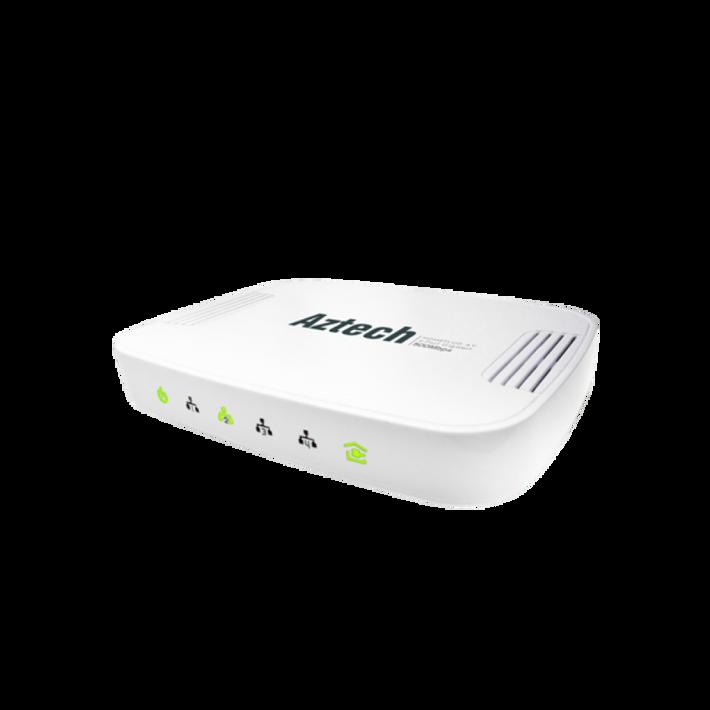 Aztech HomePlug AV 500Mbps 4-Port Gigabit (HL125G)