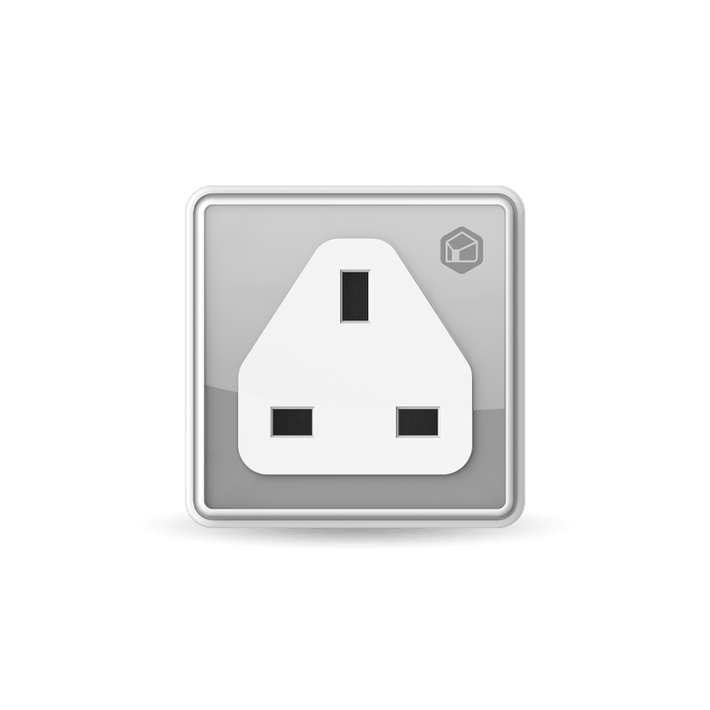 Convert any power point into a smart one with the Smart Plug. It connects to the home WiFi, and works without the Hub. Simply control it using the Kyla app on a mobile device.