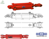 Hydraulic Cylinders Cross Mfg (USA)