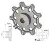 Detachable Chain Cast Iron, Stock Bore
