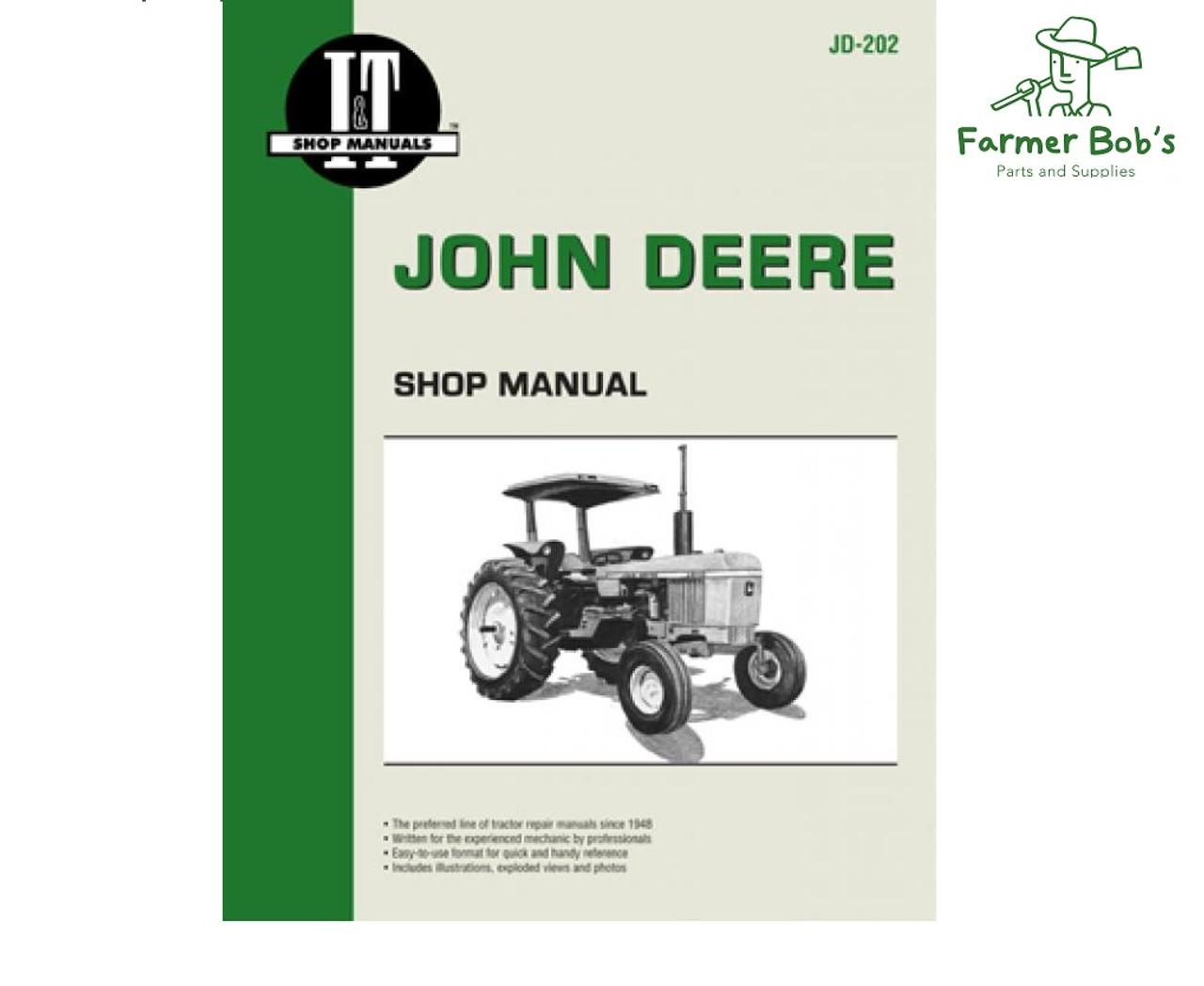 jd202 - i&t shop manuals john deere 2510, 2520, 2040, 2240, 2440