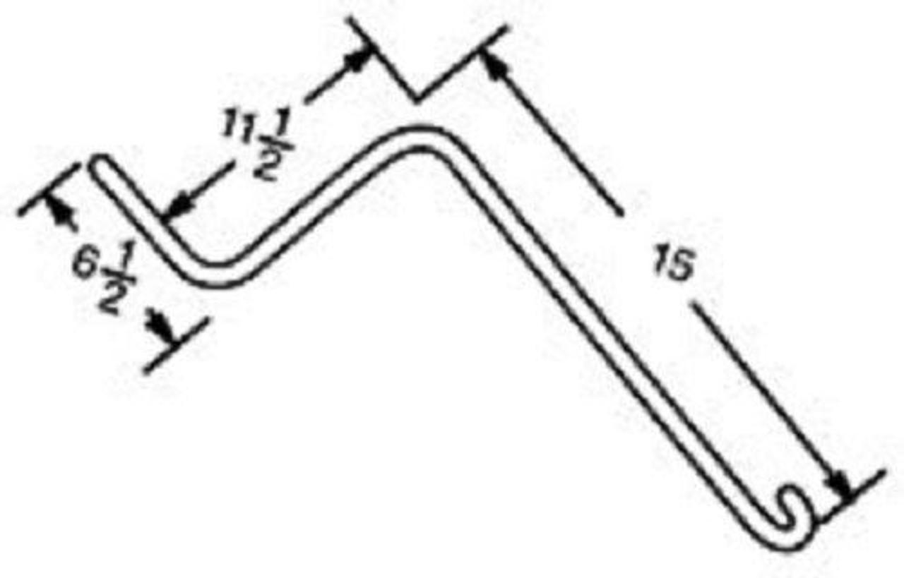 40pcs of Wheel Rake Teeth / Tines w/ Wire  281