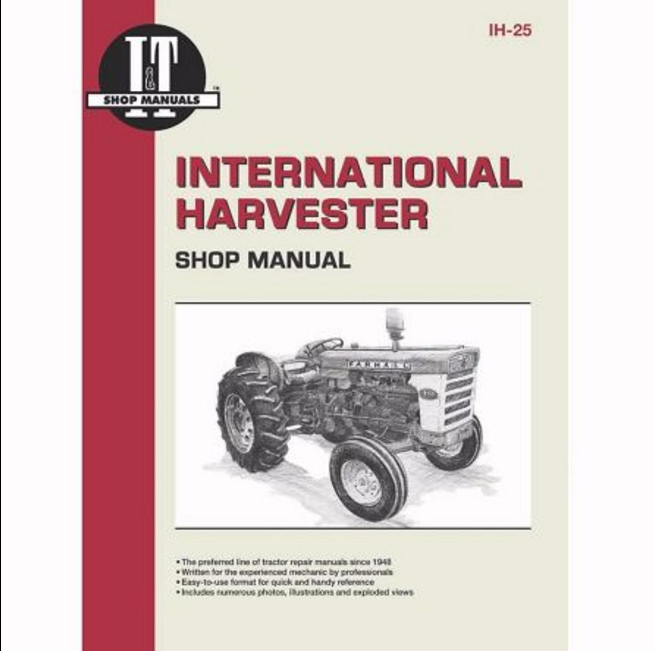 I&T Shop Manuals International Harvesters (Farmall) 460 560 606 660 and  2606 manual. - Farmer Bobs Parts and Supplies LLCFarmer Bobs Parts