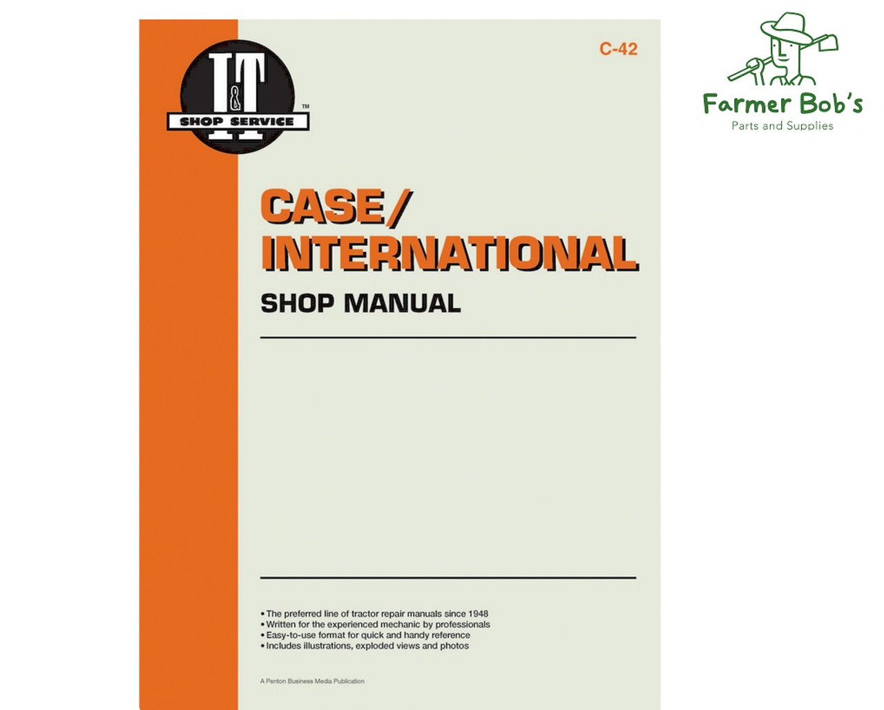 c42 - case / international manual covers models, 235, 245, 255, 265