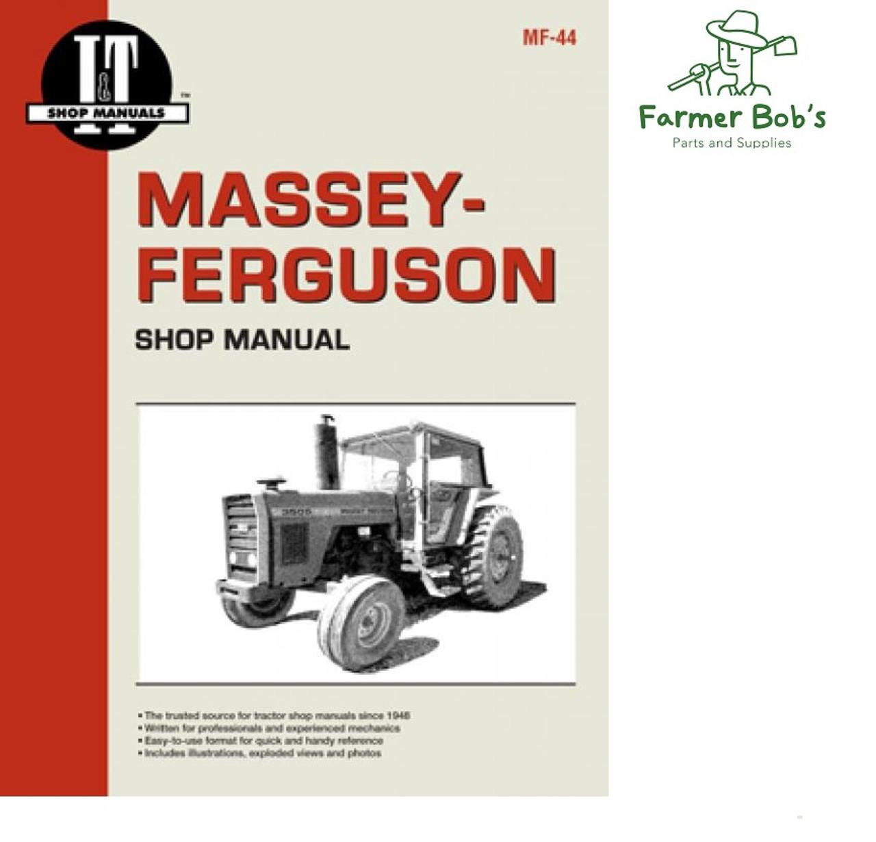 MASSEY FERGUSON MF 1100 1130 TRACTOR PARTS CATALOG MANUAL ASSEMBLY