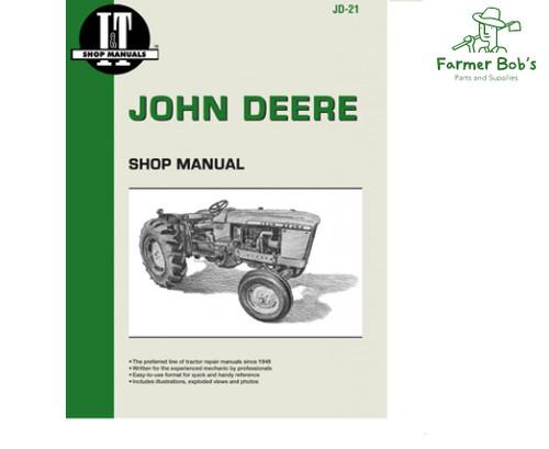 JD58 I T Shop Manuals John Deere 2150 2155 2255 2350