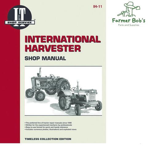 i\u0026t shop manuals international harvester (farmall) 3088 1942 Farmall H Wiring Diagram