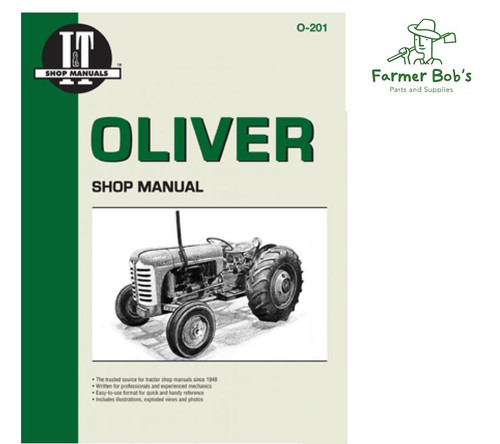 oliver diesel tractor wiring diagram tractor accessories shop repair manuals page 1 farmer bobs  shop repair manuals