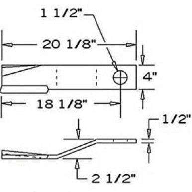 Servis Blade Servis Rhino 1008 Flex 15 Flex 15 SR15 SR15M Disc Mower