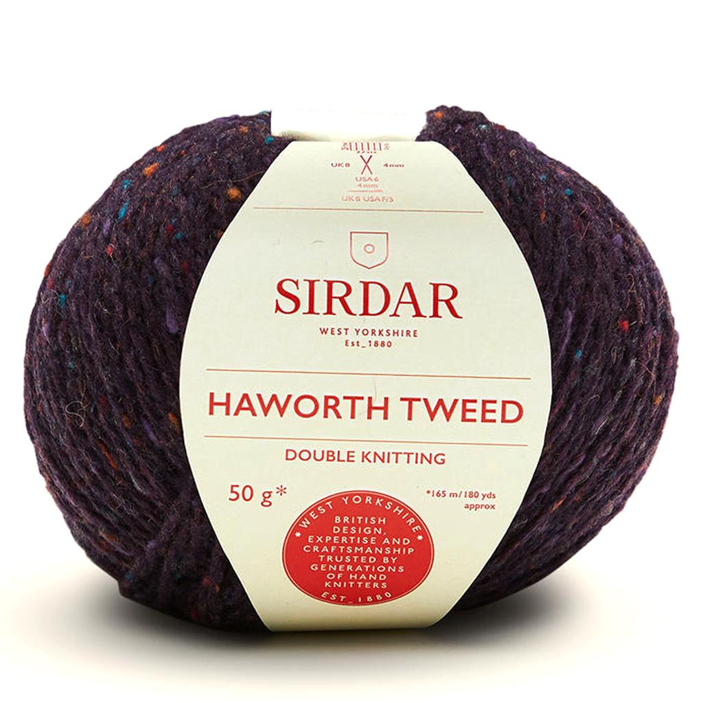 Sirdar Haworth Tweed DK Knitting Yarn, 50g balls | 908 Bronte Bronze