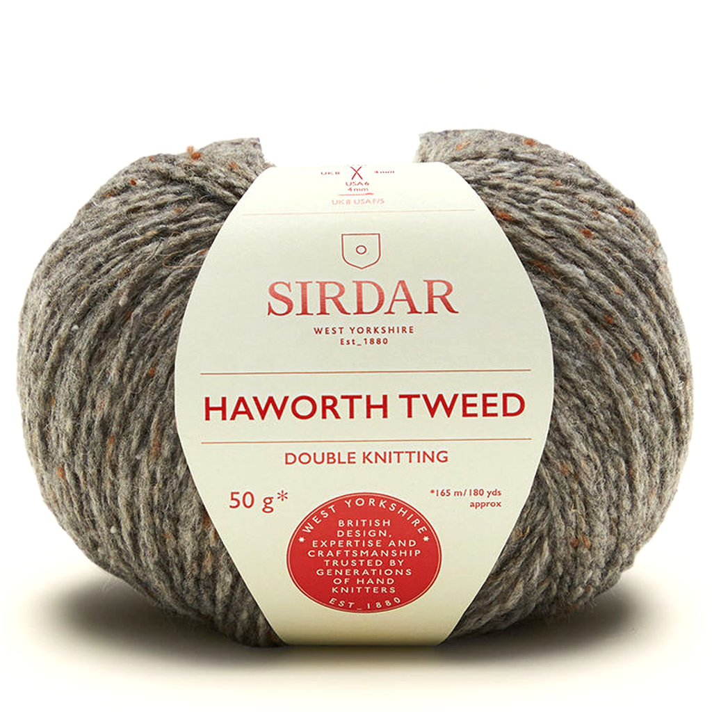 Sirdar Haworth Tweed DK Knitting Yarn, 50g balls | Various Shades