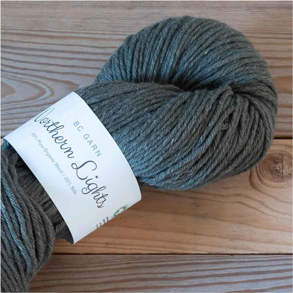 BC Garn Northern Lights GOTS Aran Weight Knitting Yarn, 100g Hanks | 16 Genuine