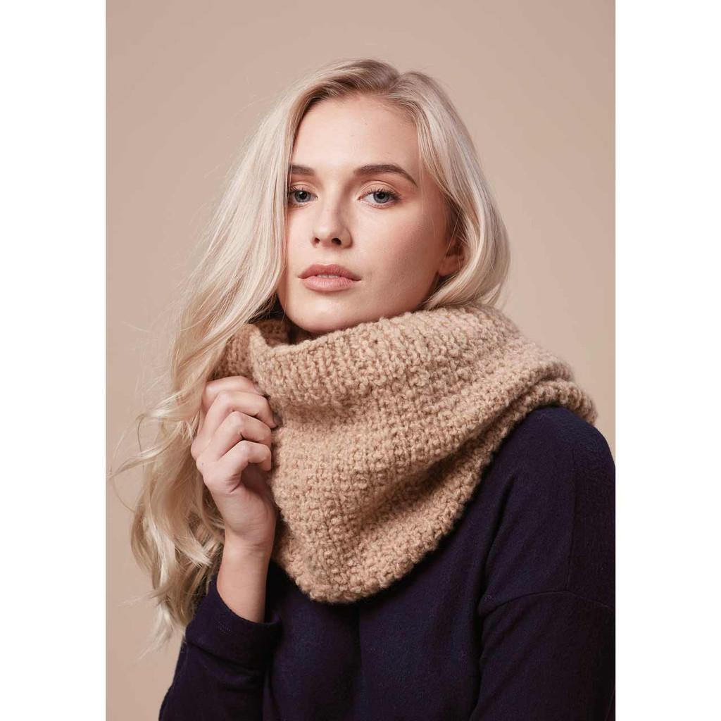Rowan Textured Snood Knitting Pattern, Rowan Cosy Merino Chunky Wool   Free Digital Download - Main image