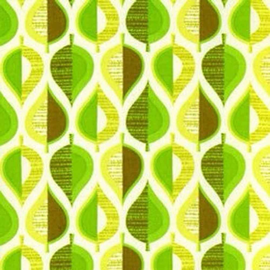 Wildwood | Pressed Leaves | Erin McMorris Fabric | EM10.GREEN | Green
