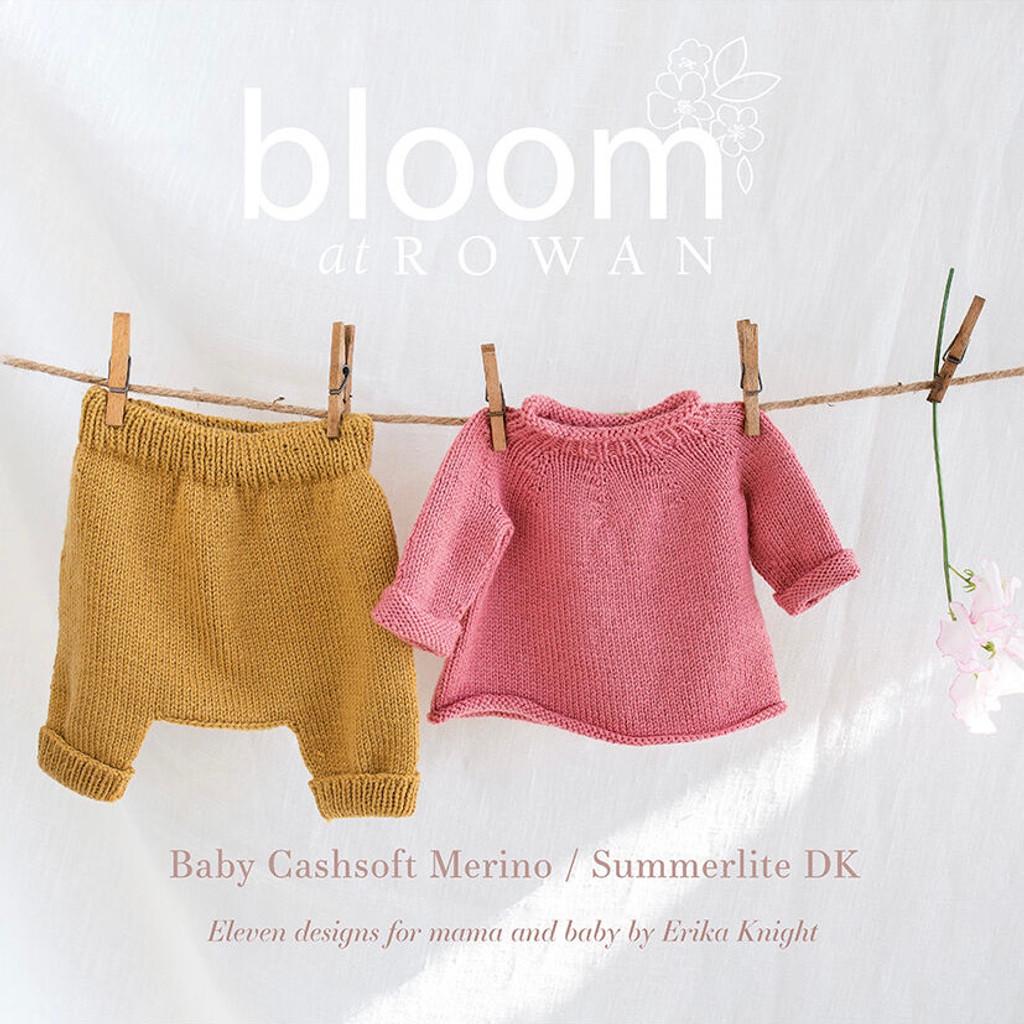 **New** Bloom at Rowan   Baby Cashsoft Merino / Summerlite DK   Erika Knight