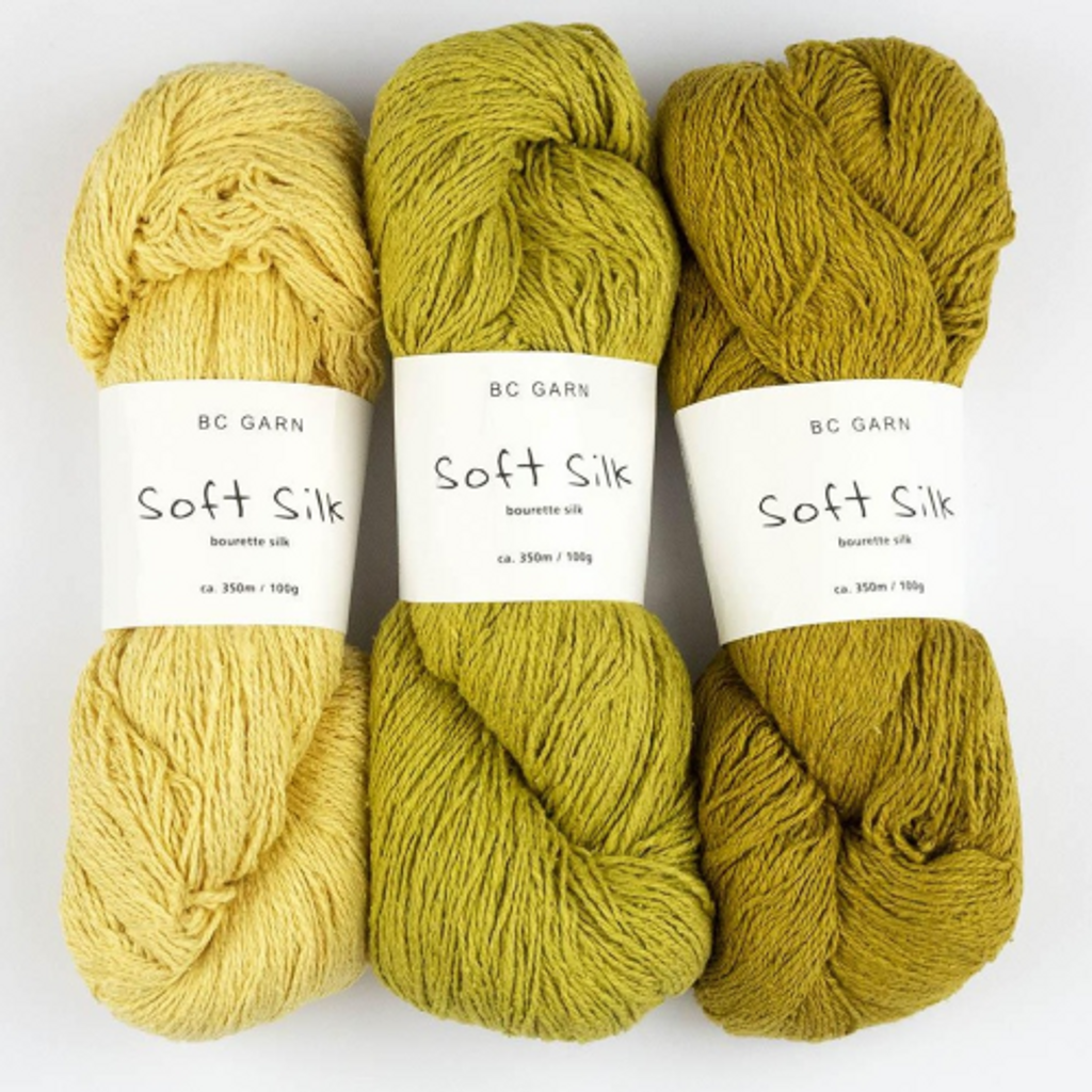 BC Garn Soft Silk 4 Ply Knitting Yarn, 100g Hanks | Various Colours
