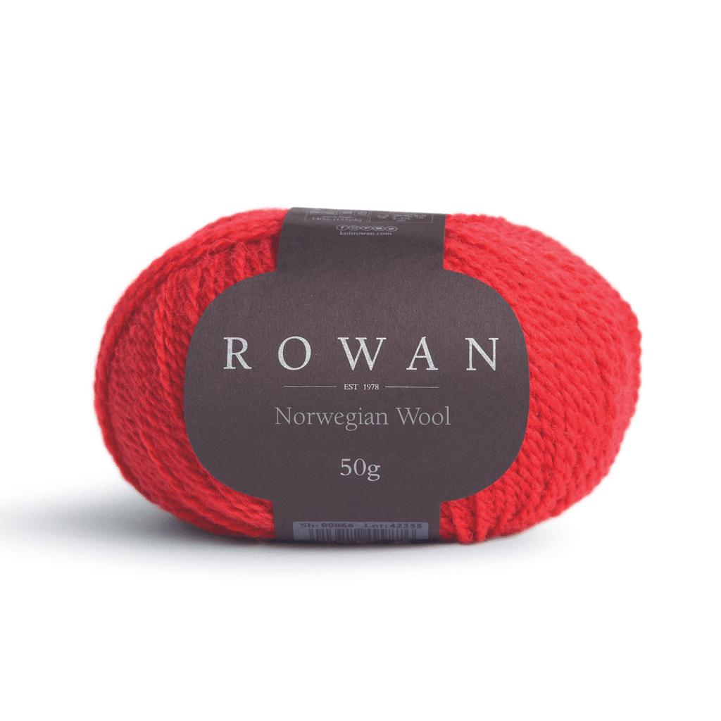 Rowan Selects Norwegian Wool Colour | 18 Ribbon red